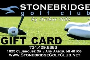 gift card for golf