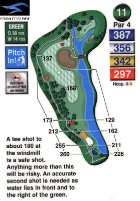 Stonebridge golf course hole 11
