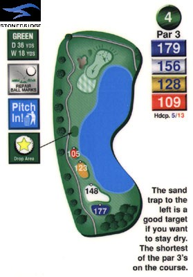 Stonebridge golf course hole 4