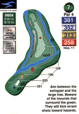 Stonebridge golf course hole 7