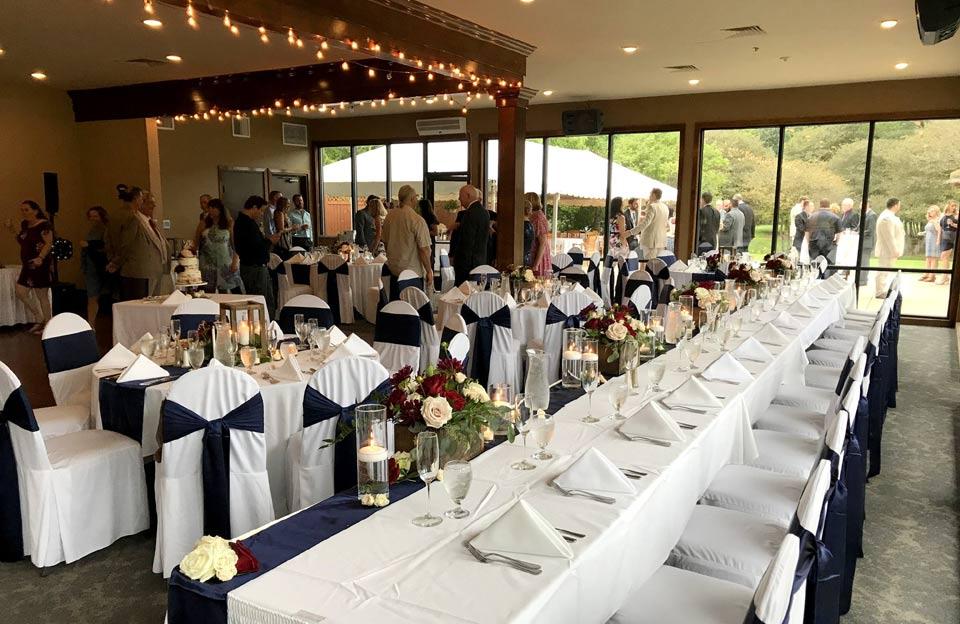 Ann Arbor wedding space with windows