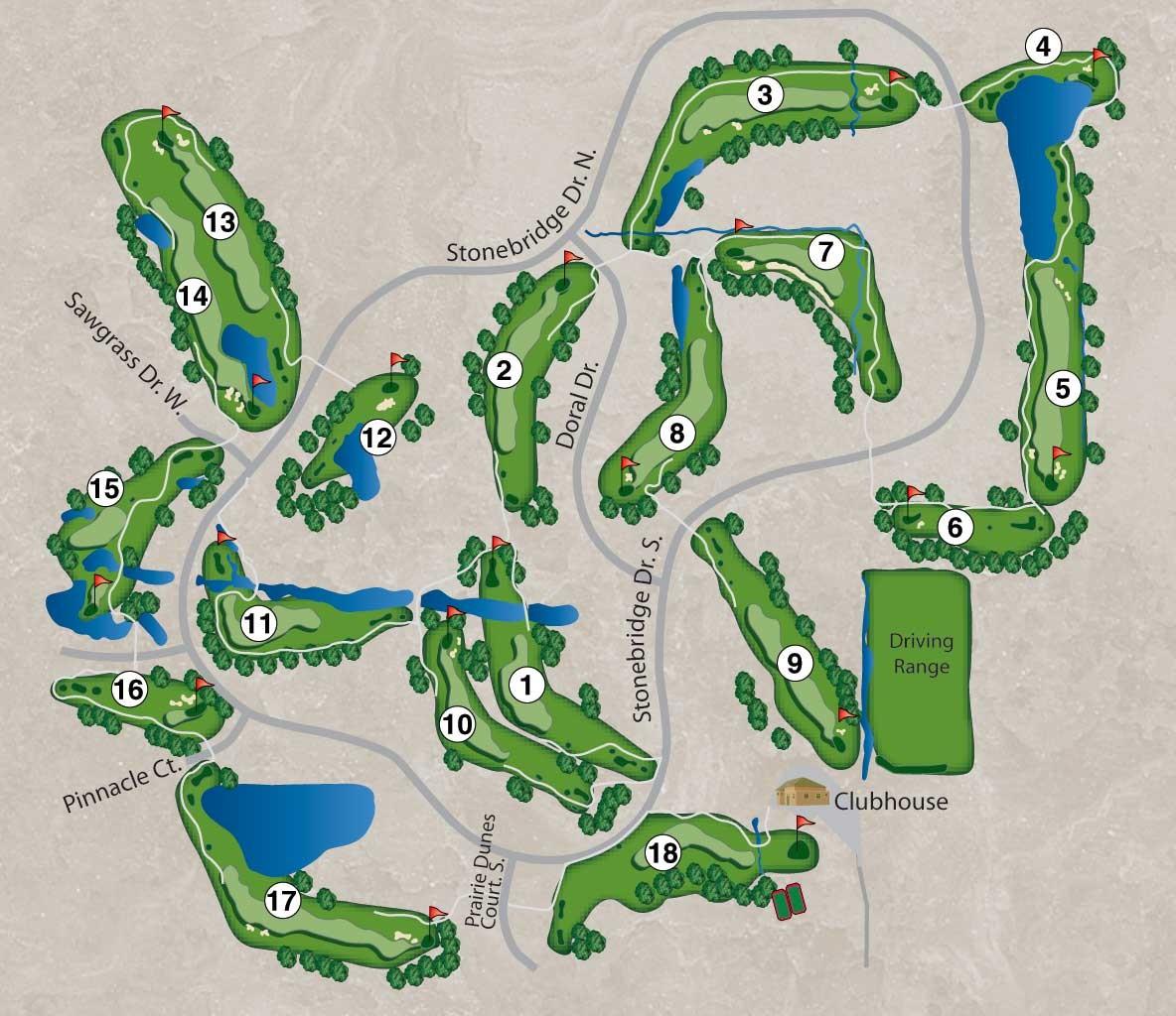 Golf Course Information Stonebridge Golf Club Ann Arbor