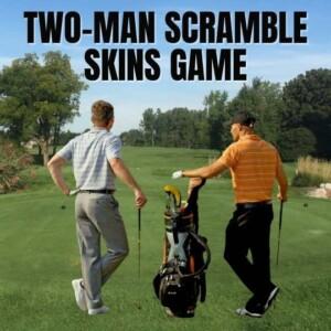 Ann Arbor Two Man Scramble Tournament Skins Game