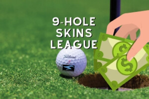 9 hole skins league golf scramble