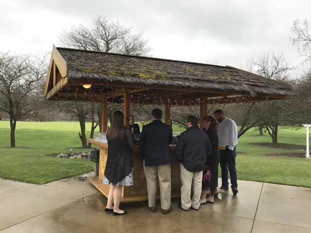 Tent Ceremony & Indoor Reception