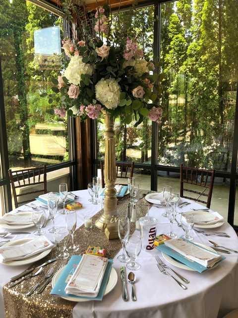 wedding reception May 18