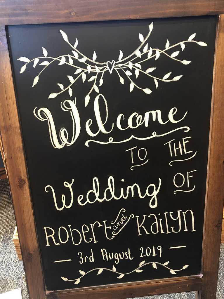 Wedding August 3