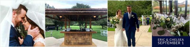 September wedding reception