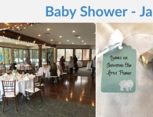 Baby Boy Shower – January 25