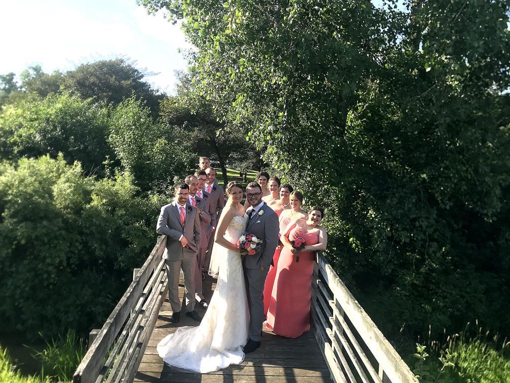 golf course wedding July 11
