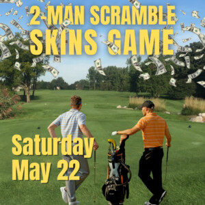 2-Man Scramble in Ann Arbor May 22